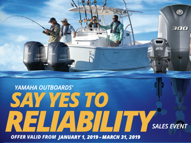 Yamaha Outboards' – Say YES to Reliability