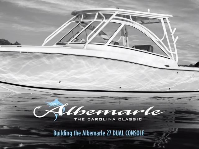Visit Oyster Harbors Marine to Test Drive the NEW Albemarle 27 Dual Console