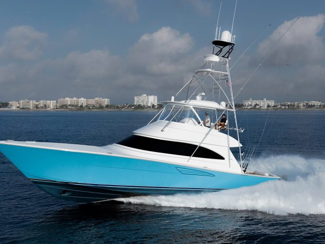 Viking Yachts' New 58 Convertible
