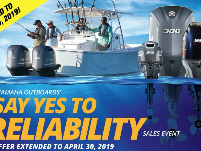 Say YES to Reliability! Yamaha Promotion Extended!