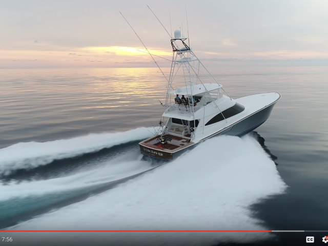 Viking yacht on water as part of new short film