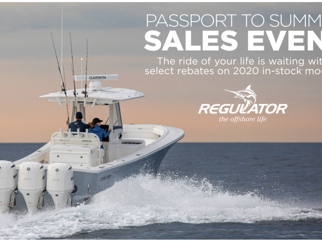 Regulator's Passport to Summer Sales Event